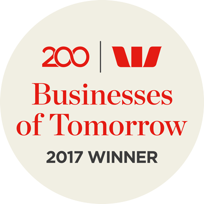 Westpac 200 Business of Tomorrow Awards 2017